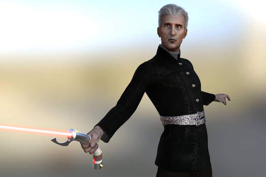 Count Dooku - Young-ish Sith Apprentice
