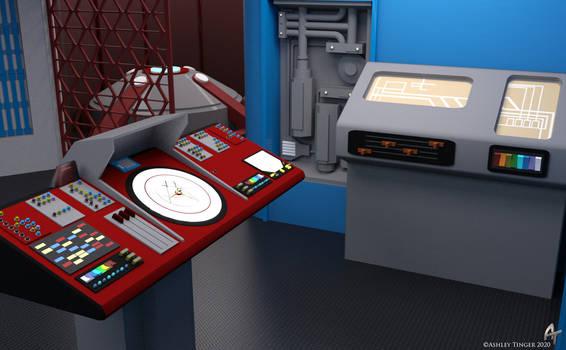 Throwback Transporter Room Revamp