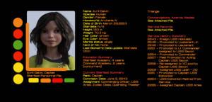 USS Aries Starfleet Personnel File Avril Galvin