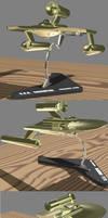 USS Edmonton Desk Model - WIP