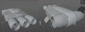 CP180 Heavy Courier WIP 02