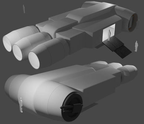 CP180 Heavy Courier WIP 03