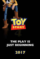 Toy Story 4 Fan-poster by JubaAj