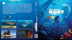 Procurando Dory - capa blu-ray by JubaAj