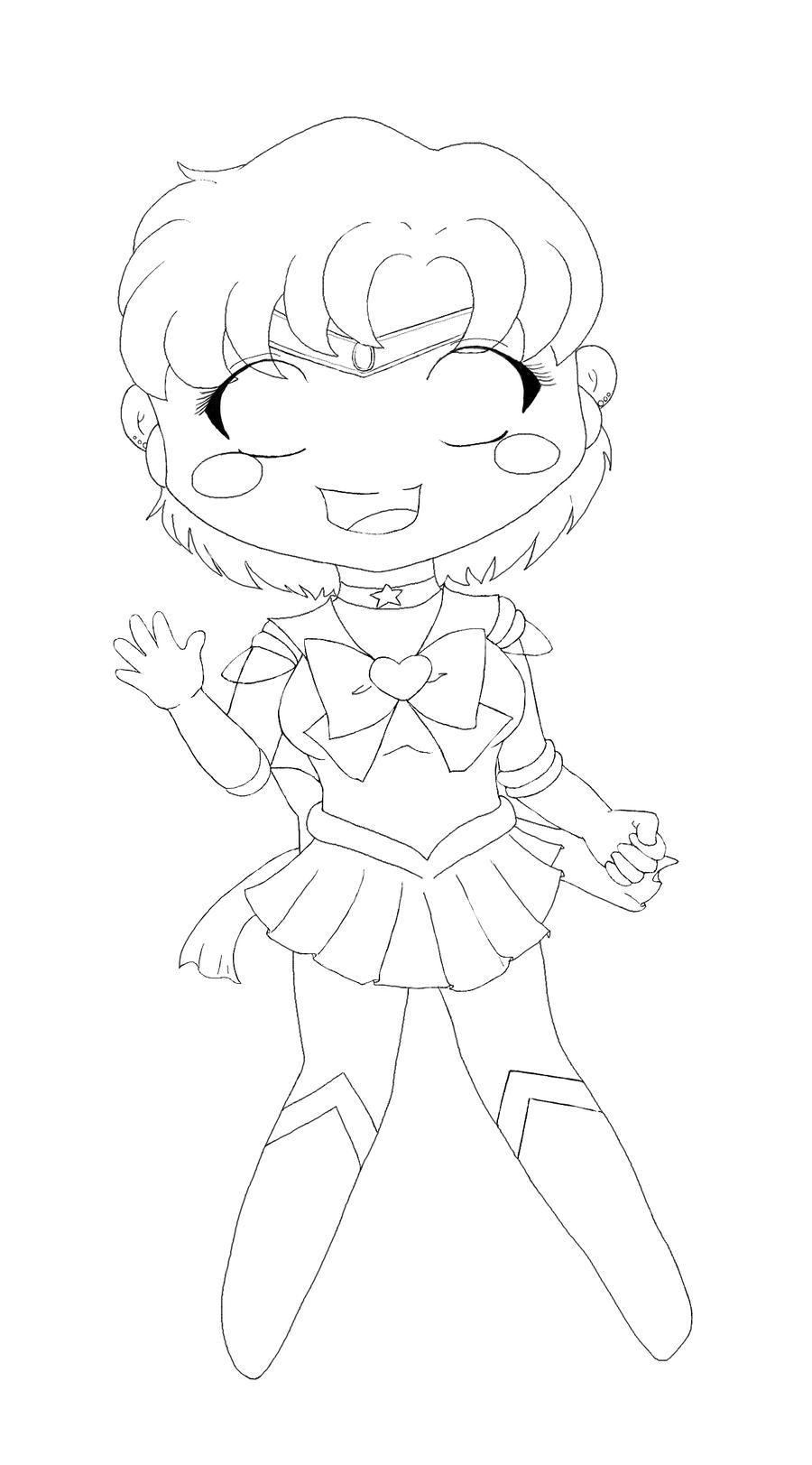 chibi sailor mercury by tarynerhedey on deviantart