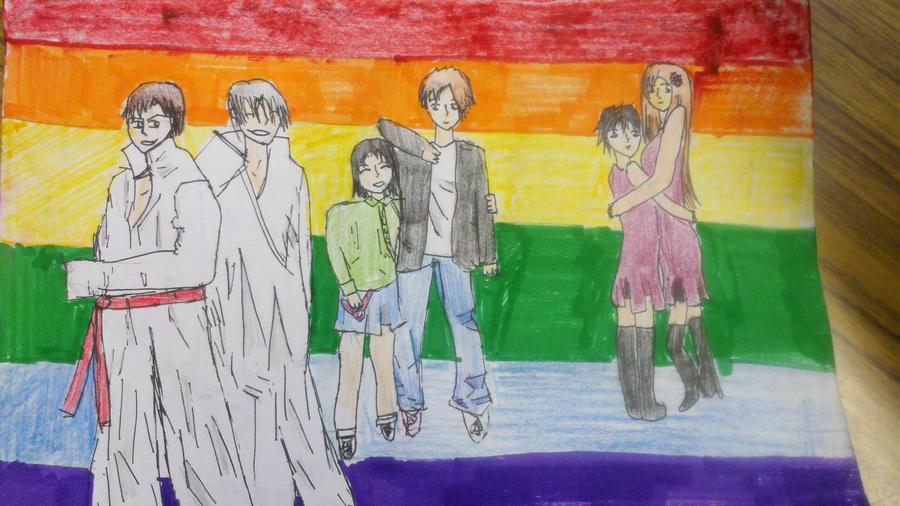Peace, Love, and Pride by fujoshianimechick