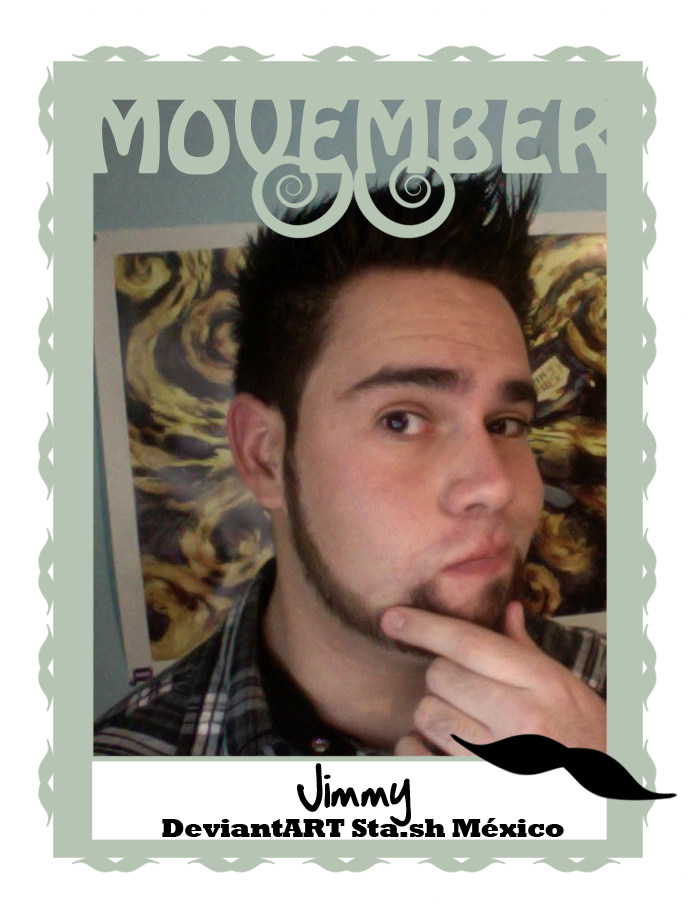 Movember by jimmyelshaman