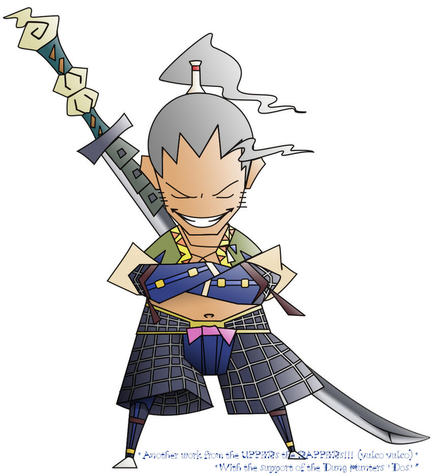 MHG Samurai by MonsterHunterClub