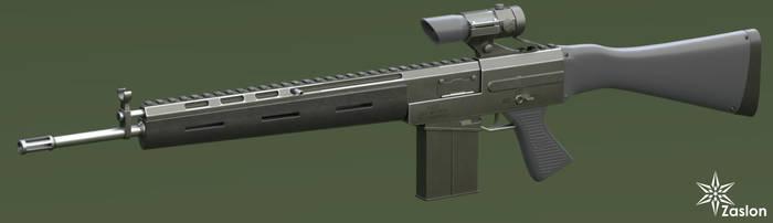 original assault rifle by Zaslon
