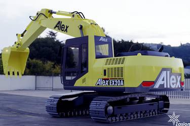 EX20A Hydraulic excavator by Zaslon