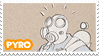 TF2 Pyro Stamp by MrEchoAngel