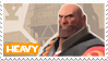 TF2 Heavy Stamp by MrEchoAngel
