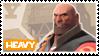 TF2 Heavy Stamp by MrEchoAngel