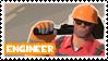 TF2 Engineer Stamp by MrEchoAngel