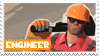 TF2 Engineer Stamp by MrEchoAngel