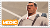 TF2 Medic Stamp by MrEchoAngel