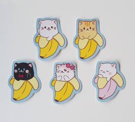 Bananya Sticker Pack