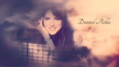 Danneel Ackles sepia by RoseAcklesWinchester