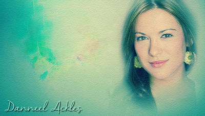 Danneel Ackles green texturized by RoseAcklesWinchester