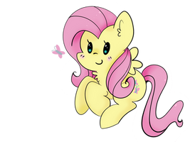 Chibi FlutterShy by ChicCritique