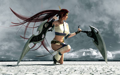 Heavenly Sword by badnugly