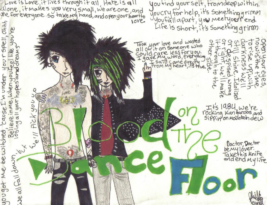 Blood On The Dance Floor By Kittyt247 On Deviantart