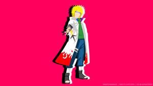 Minimalist-B #31   Minato Namikaze   Naruto