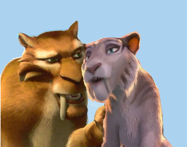 ice age 4 shira and diego kiss - photo #25