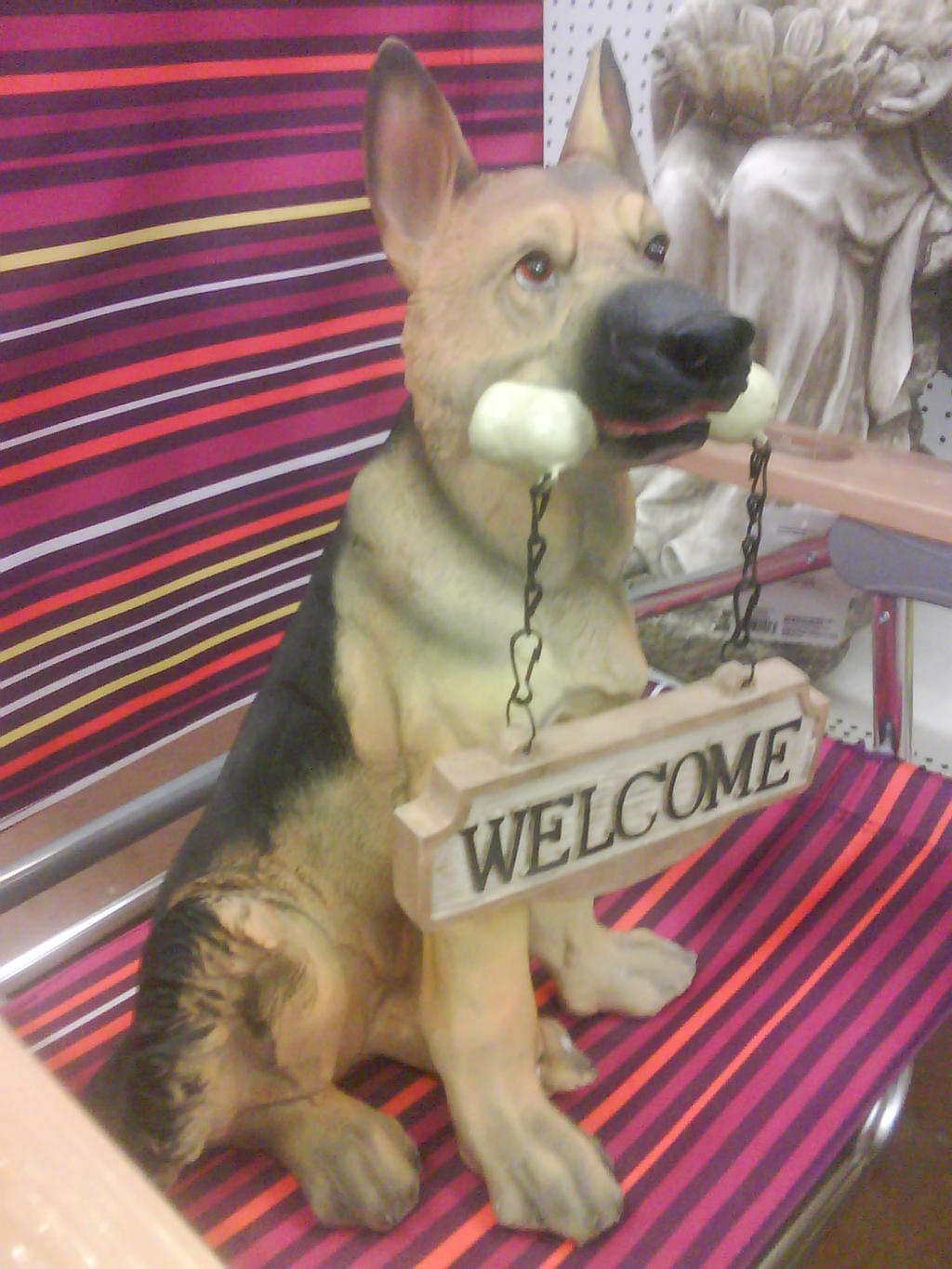 Genial German Shepherd Garden Statue By Codetski101 German Shepherd Garden Statue  By Codetski101