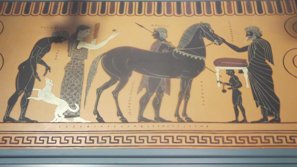 Greek Wall Mural by Codetski101 on DeviantArt