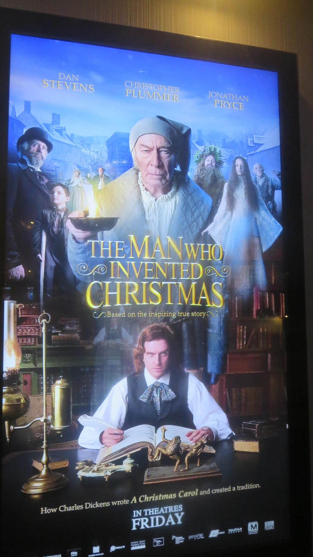 The Man Who Invented Christmas Showtimes.The Man Who Invented Christmas By Codetski101 On Deviantart