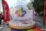Tim Hortons Pride Donut Snowglobe