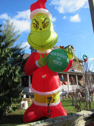 Giant Inflatable Grinch