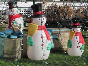 Sweeping Snowmen
