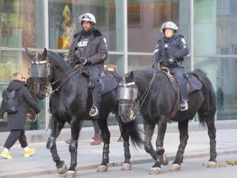 Mounted Policemen
