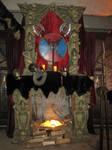 Casa LomaViking Home Fireplace