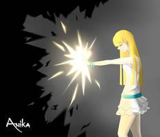 Light vs Darkness by AnikaSky