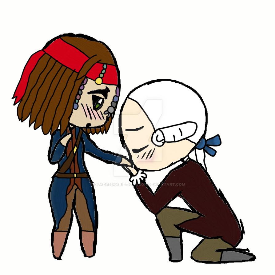 POTC-I am No Pirate Lord Beckett by Gladys-Marie-Johnson
