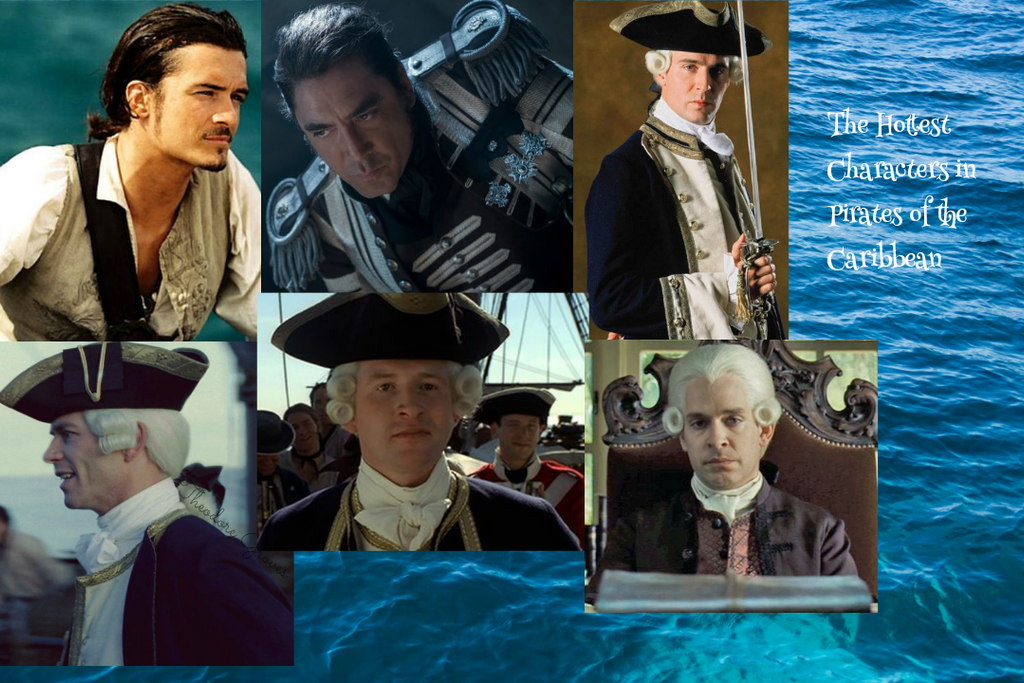 POTC-The Hottest Characters (in my opinion) by Gladys-Marie-Johnson