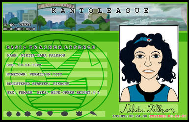 Nikita's Trainer Card