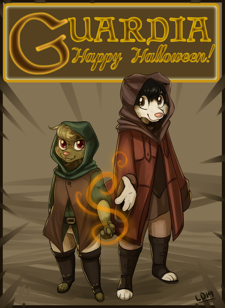 Happy Halloween! by lemondragon19