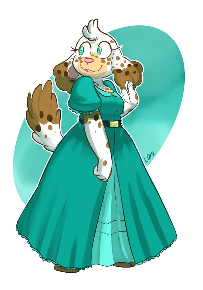 Guardia - Princess Purscava Lillian Divinia by lemondragon19