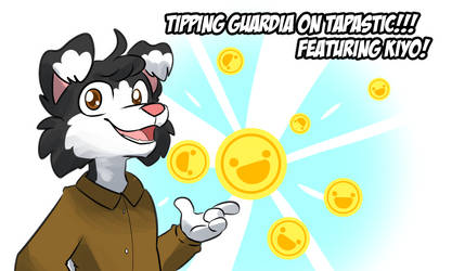 Tipping on Tapastic! by lemondragon19