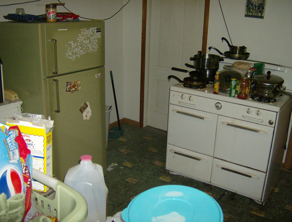 Messy apartment iii by vesicustock on deviantart Messy apartment
