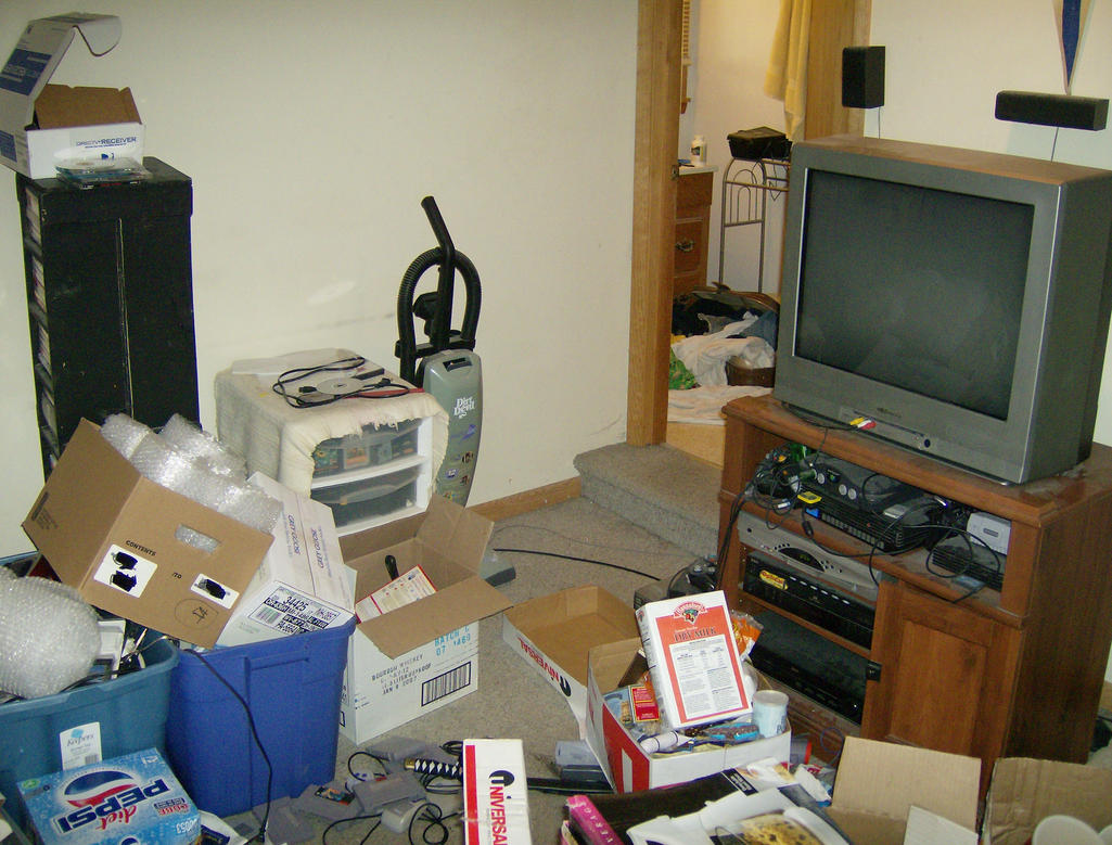 Messy apartment vii by vesicustock on deviantart Messy apartment