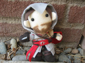 Ezio Plush by bunnysmiles