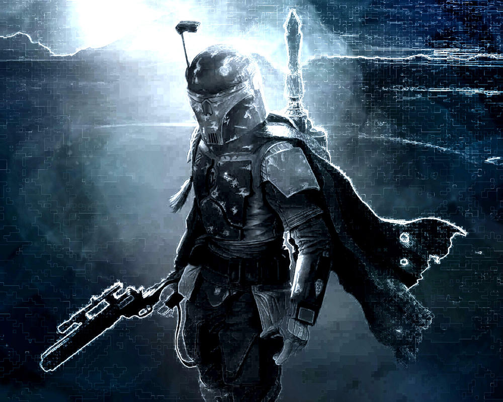 Mandalorian Bounty Hunter by AraxussYexyr