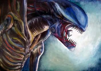 Alien (Xenomorph) by AraxussYexyr