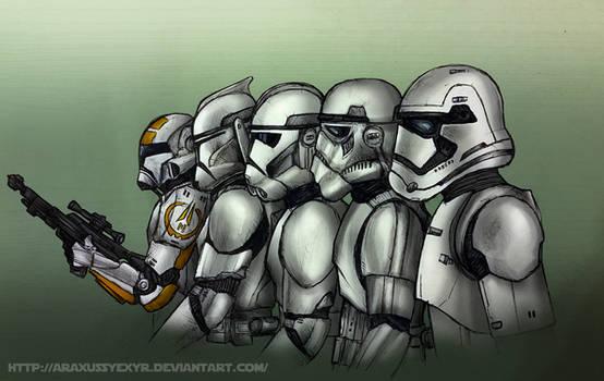 Stormtrooper armor evolution