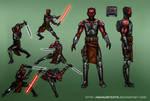 Darth Maul (Death Watch Leader) - Concept